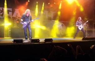 La legendaria banda de thrash metal Megadeth y las miles de personas que fueron a verla al Jockey Club hicieron juntos del concierto algo que quedará en el recuerdo.