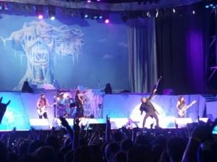 Otro capítulo histórico de la música en Paraguay tuvo lugar el domingo con el primer concierto en Paraguay de la legendaria banda británica Iron Maiden.