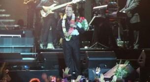 Luis Miguel hizo estallar a sus fans la noche del sábado en el Jockey Club de Asunción.