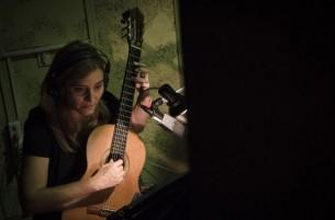 Berta Rojas nos abre a la intimidad de los estudios donde graba en Buenos Aires un álbum de clásicos del tango.