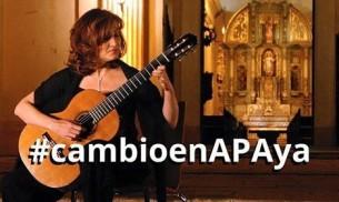 Artistas y compositores exigen verdaderos cambios en la sociedad de gestión colectiva Autores Paraguayos Asociados (APA).