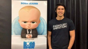 Talento de exportación. Once años atrás Guillermo Careaga firmaba un contrato con DreamWorks; hoy es uno de los exponentes paraguayos de la animación.