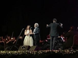 El tenor español José Carreras inmortalizó la noche paraguaya en su gira mundial de despedida de los escenarios.