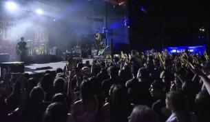 Simple Plan se robó los aplausos durante su primer concierto en Asunción, Paraguay.