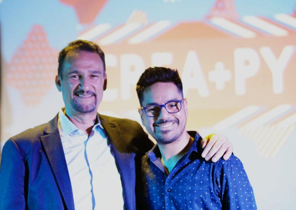 Kike Santander y Jorge Coronel
