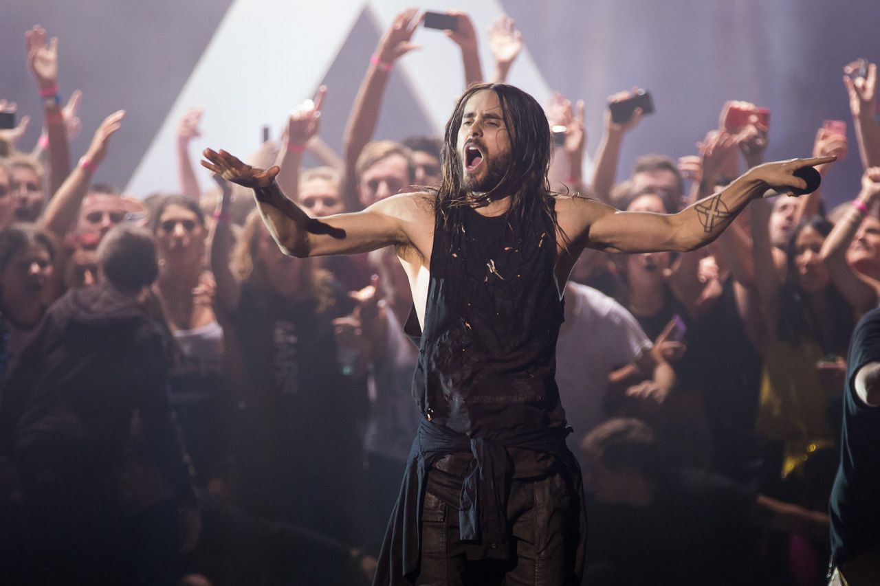 Jared Leto, voz de 30 Seconds to Mars