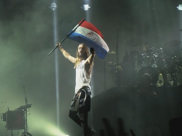 30 Seconds to Mars en Paraguay