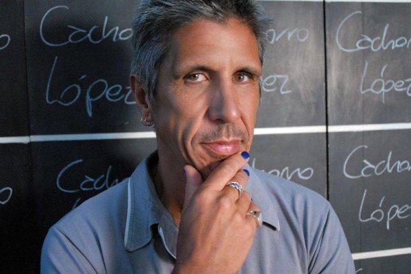 El músico y productor Cachorro López.