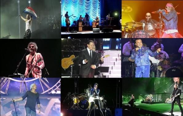 Los mejores conciertos del 2014.