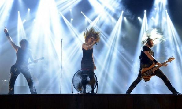 Epica, en su segundo concierto en Paraguay.