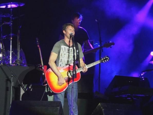 James Blunt en Paraguay