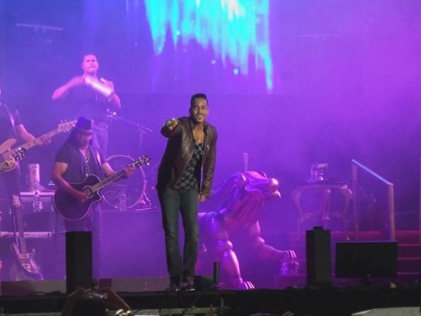 El show de Romeo Santos en Asunción, Paraguay.