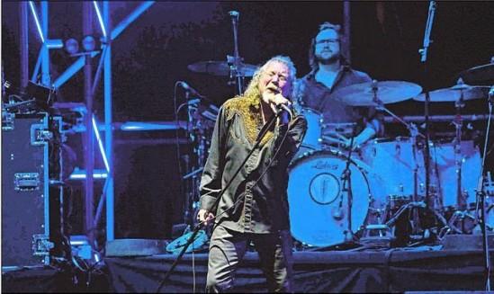 Robert Plant en Paraguay
