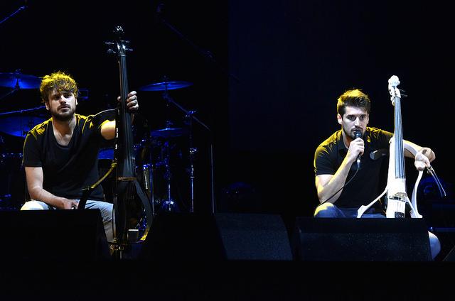 2Cellos en Paraguay