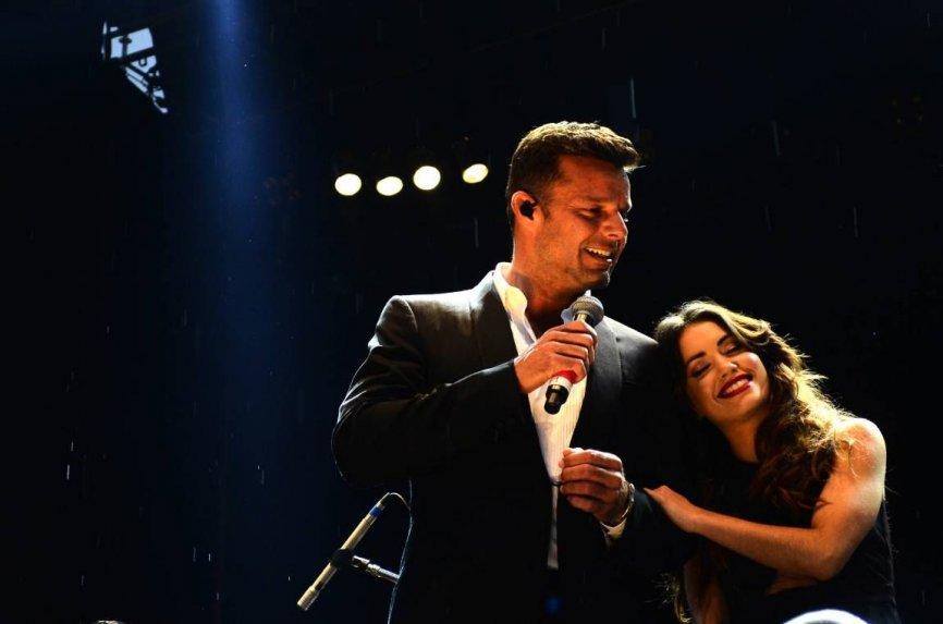 Lali Espósito y Ricky Martin